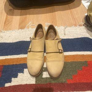 Zara Men's double monk strap limited edition shoes